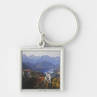 Germany, Bavaria, Neuschwanstein Castle. King Keychain