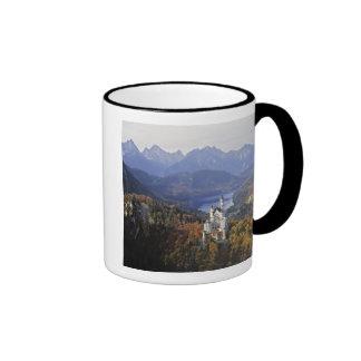 Germany, Bavaria, Neuschwanstein Castle. King Ringer Coffee Mug