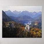 Germany, Bavaria, Neuschwanstein Castle. King Poster