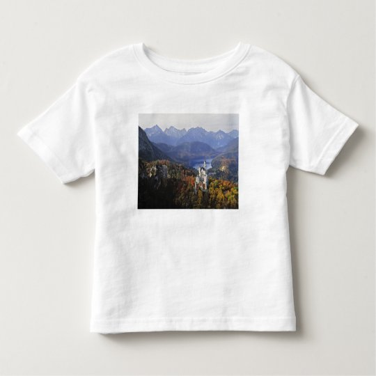 Germany, Bavaria, Neuschwanstein Castle. King Toddler T-shirt