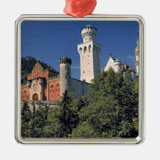 Germany, Bavaria, Neuschwanstein Castle. Metal Ornament