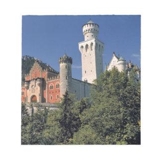 Germany, Bavaria, Neuschwanstein Castle. Note Pad