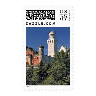 Germany, Bavaria, Neuschwanstein Castle. Postage