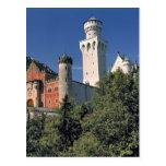 Germany, Bavaria, Neuschwanstein Castle. Postcard