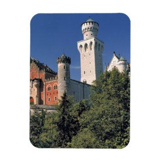 Germany, Bavaria, Neuschwanstein Castle. Rectangular Photo Magnet