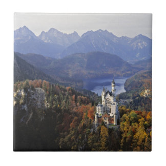 Germany, Bavaria, Neuschwanstein Castle. Tile