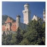 Germany, Bavaria, Neuschwanstein Castle. Tile