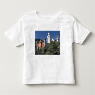 Germany, Bavaria, Neuschwanstein Castle. Toddler T-shirt