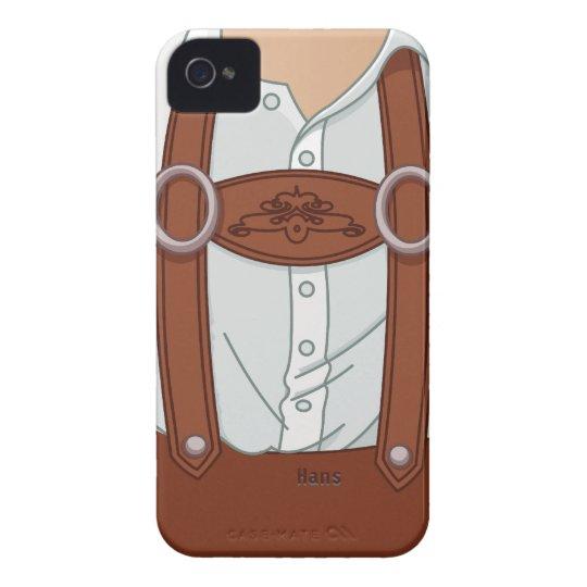 Germany Bavarian Lederhose iPhone 4 Case-Mate Case