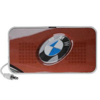 Germany, Bayern-Bavaria, Munich. BMW Welt Car 2 iPhone Speaker