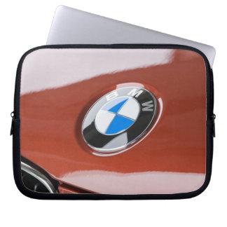 Germany, Bayern-Bavaria, Munich. BMW Welt Car 2 Laptop Sleeve