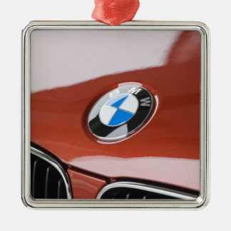 Germany, Bayern-Bavaria, Munich. BMW Welt Car 2 Metal Ornament