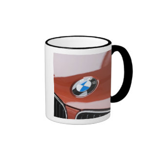 Germany, Bayern-Bavaria, Munich. BMW Welt Car 2 Ringer Mug