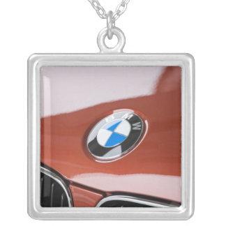 Germany, Bayern-Bavaria, Munich. BMW Welt Car 2 Silver Plated Necklace