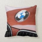 Germany, Bayern-Bavaria, Munich. BMW Welt Car 2 Throw Pillow