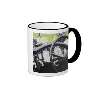 Germany, Bayern-Bavaria, Munich. BMW Welt Car 3 Ringer Coffee Mug