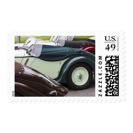 Germany, Bayern-Bavaria, Munich. BMW Welt Car 4 Stamp