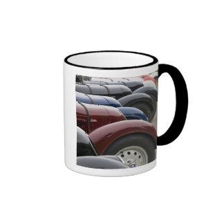 Germany, Bayern-Bavaria, Munich. BMW Welt Car Ringer Mug
