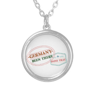 Germany Been There Done That Silver Plated Necklace