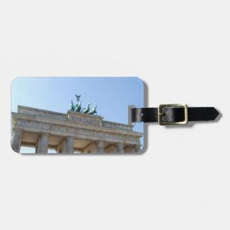 Germany, Berlin. Brandenburg Gate Luggage Tag