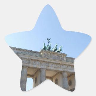 Germany, Berlin. Brandenburg Gate Star Sticker