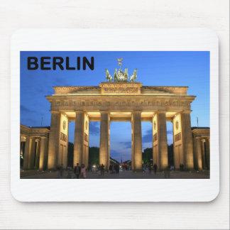 Germany Berlin Brandenburger Tor abends Mouse Pad