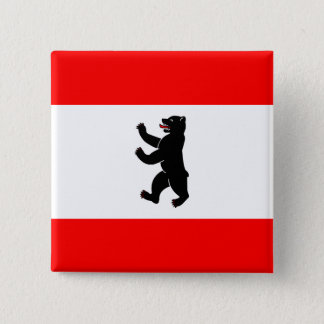 Germany Berlin High quality Flag Button