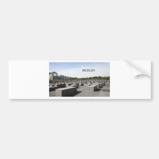 Germany Berlin Holocaust (St.K) Bumper Sticker