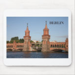 Germany Berlin Oberbaumbrucke (St.K.) Mouse Pad