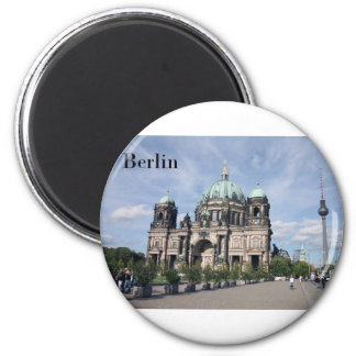 Germany Berlin (St.K) 2 Inch Round Magnet