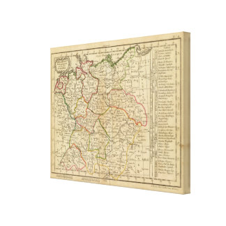 Germany, Bohemia Canvas Print