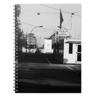 Germany Border posts East West Berlin 1970 Note Book