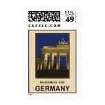 Germany Brandenburg Gate Stamp