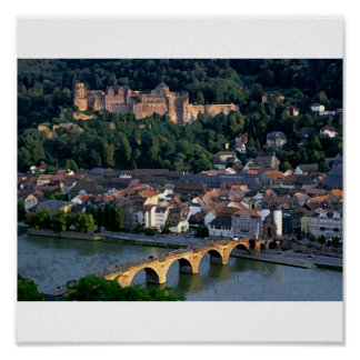 germany bridge poster