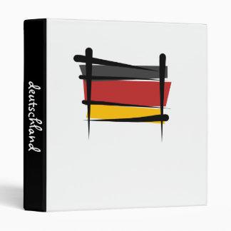 Germany Brush Flag Binder