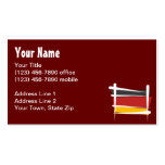 Germany Brush Flag Business Cards
