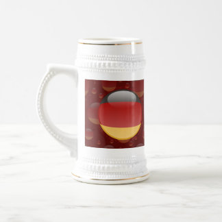 Germany Bubble Flag Beer Stein