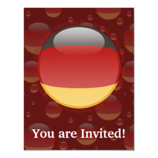 Germany Bubble Flag Card