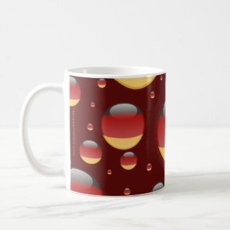 Germany Bubble Flag Coffee Mug