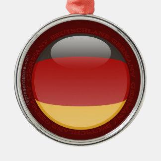 Germany Bubble Flag Metal Ornament