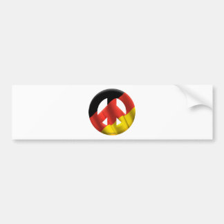 Germany Car Bumper Sticker