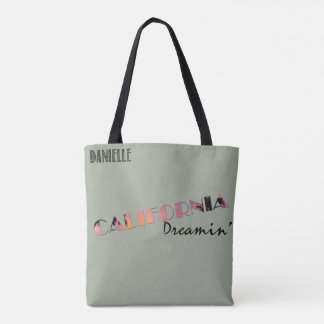 Germany California Friendship Silhouette Danielle Tote Bag