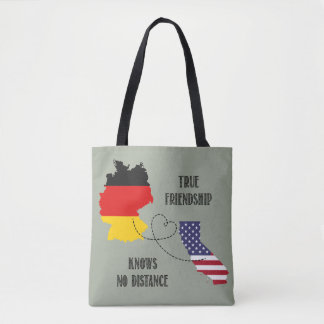 Germany California Friendship Silhouette Timo Tote Bag