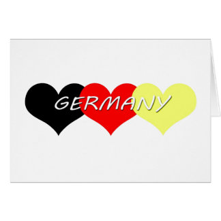 Germany Card