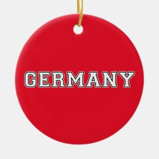 Germany Ceramic Ornament