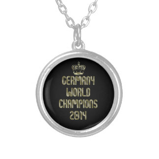Germany Champions of the World 2014 Soccer Pendant