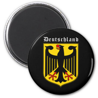 Germany Coat of Arms 2 Inch Round Magnet