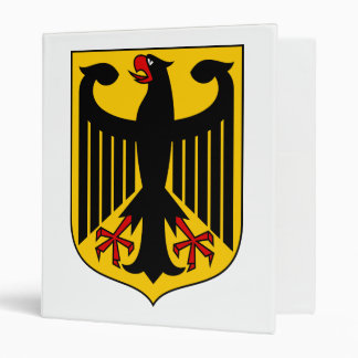 Germany Coat of Arms Binder
