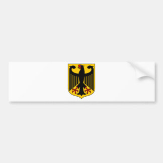 Germany Coat Of Arms Car Bumper Sticker
