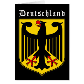 Germany Coat of Arms Card